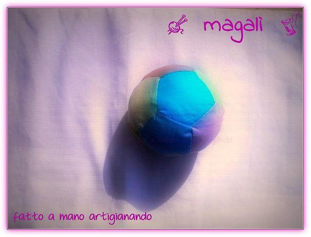 magalì: pallina arlecchina - patchwork - geometrie