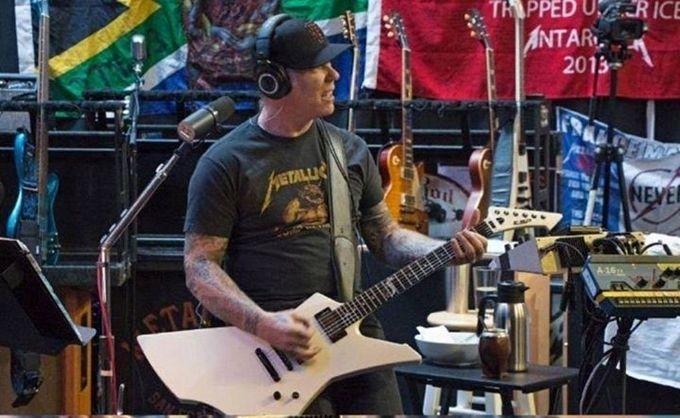 Metallica graba nuevo disco… tomando mate