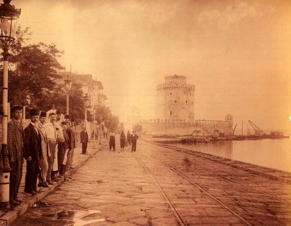 Thessaloniki, on the waterfront