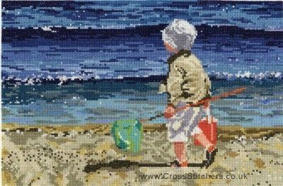 By The Sea - DMC Cross Stitch Kit