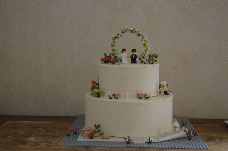 Lego Hochzeitstorte