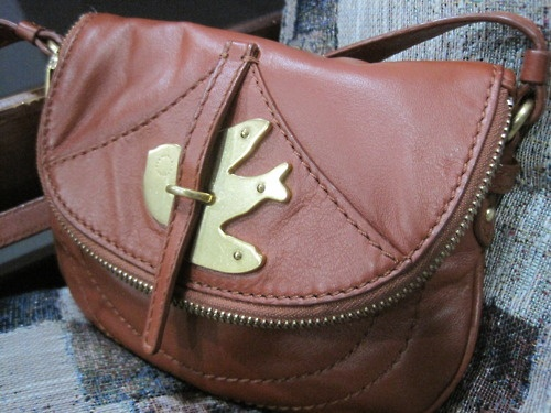 Marc by Marc Jacobs Petal to the Metal Percy Handbag in cardamom