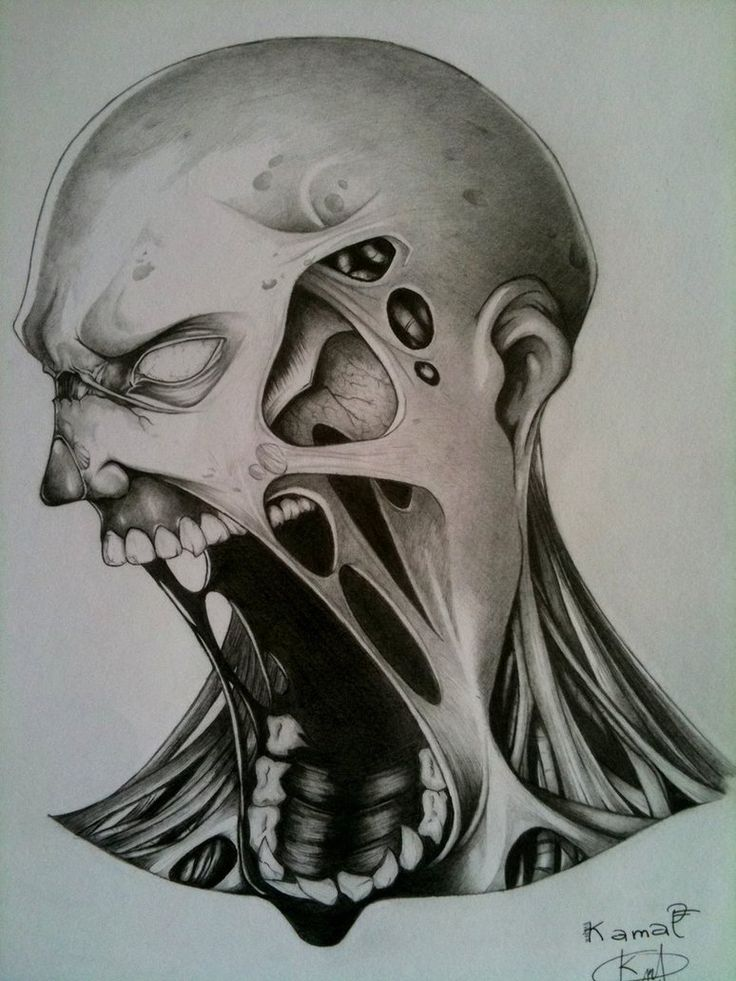 Awesome Drawings Of Zombies