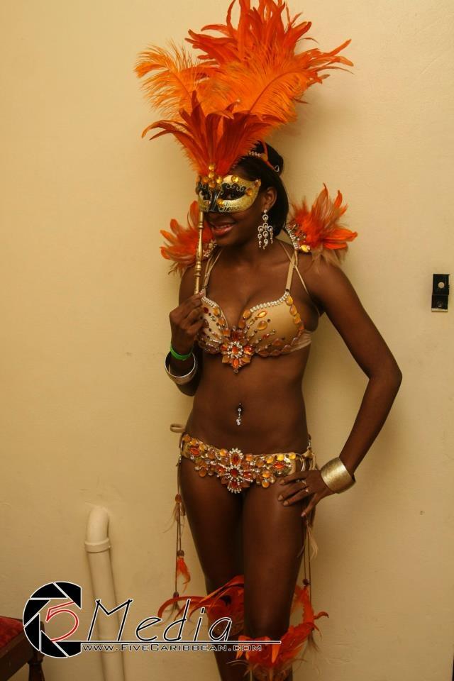 Myself, modeling a costume, Hidden Agendas