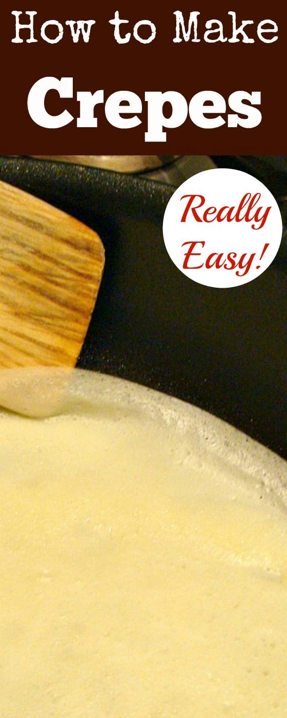 How to Make Crepes (Thin Pancakes) Quick & Easy guide with lots of filling…