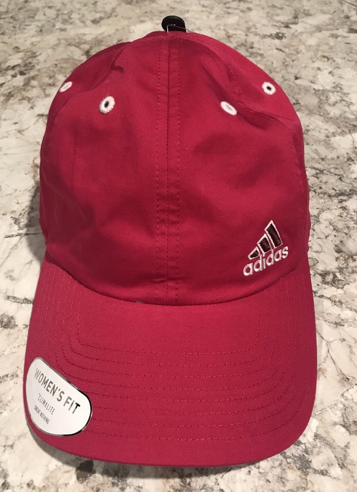 83b14283a NWT Adidas CW Squad Cap in Bold Pink with White Lettering MSRP $20 ...