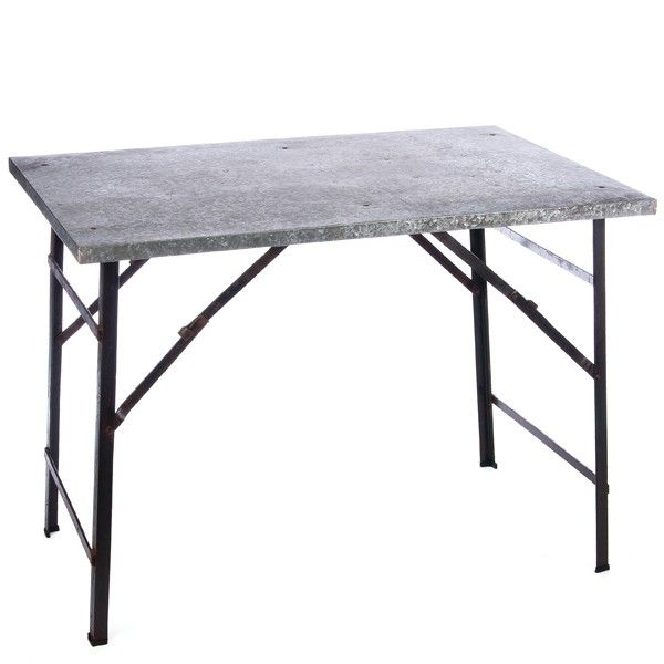 Use our Large Farmhouse Metal Folding Table as a side table next to your couch or bed OR use it in bathroom or kitchen as stylish storage! For more tables please visit Decor Steals