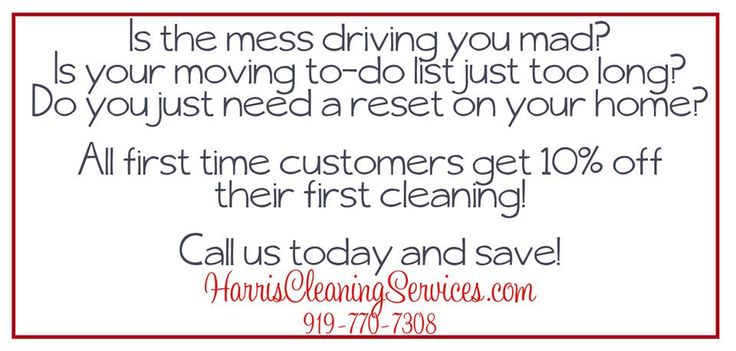 Residential Deep Cleaning, Commercial, Move In & Move Out cleanings.