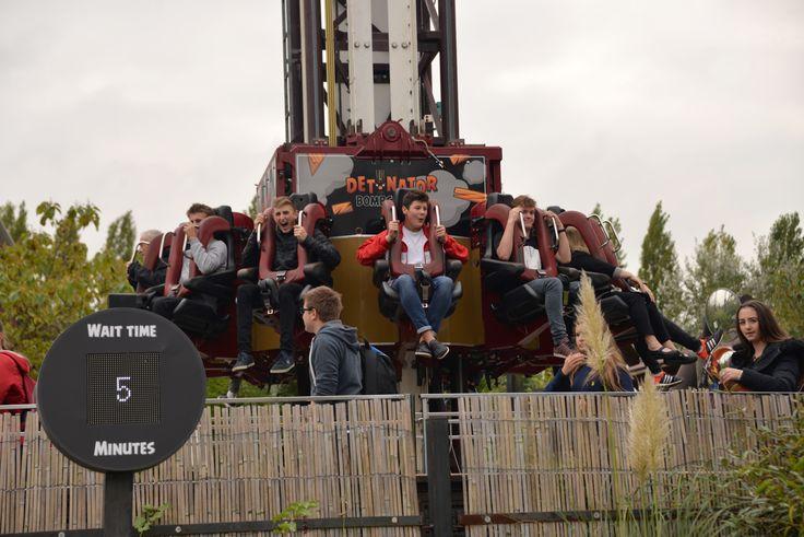 Year 13 Physics trip to Thorpe Park