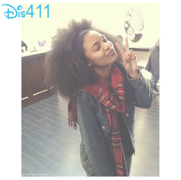 Photo: China Anne McClain Gave Everyone The Scoop On Her Hair January 20, 2014