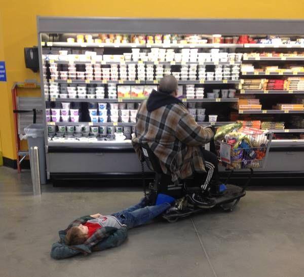 Drag Your Kid To Walmart