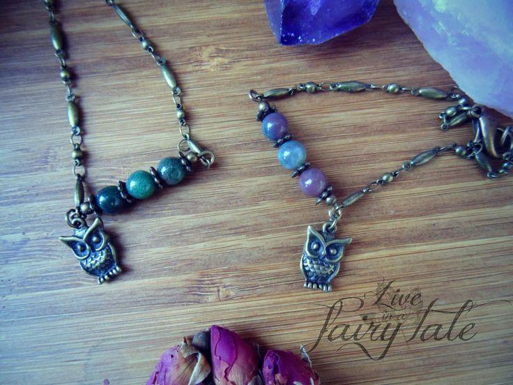 "Energetic bracelets by ""Live in a fairy tale"" #energeticbracelet #own #witchbracelet #witchjewelry #liveinafairytale #mossagate"