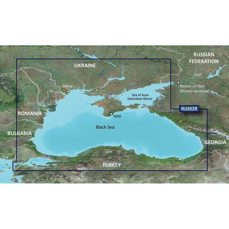 Garmin BlueChart® g2 Vision® - VRU002R - Black Sea & Azov Sea - microSD™/SD™