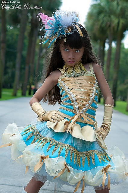 Sophie S Aqua Gold Military Outfit Love It Pageant