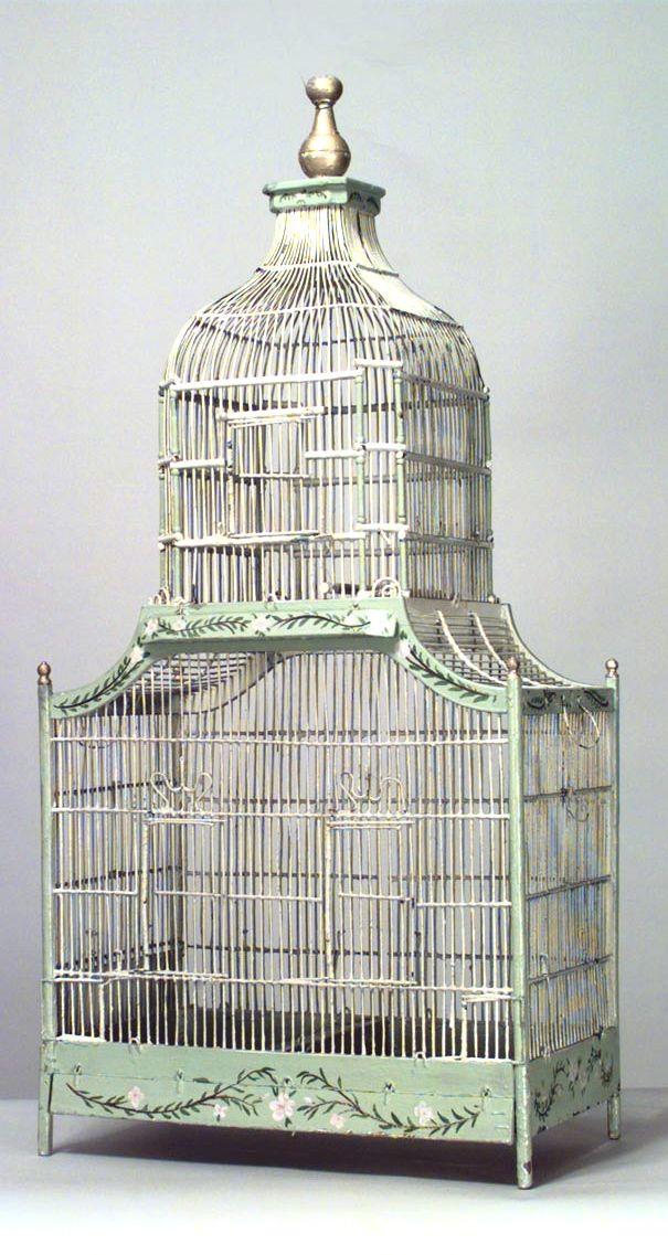 Amazing old French birdcage