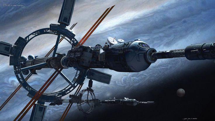 Космическая / научная фантастика (арты/картинки)