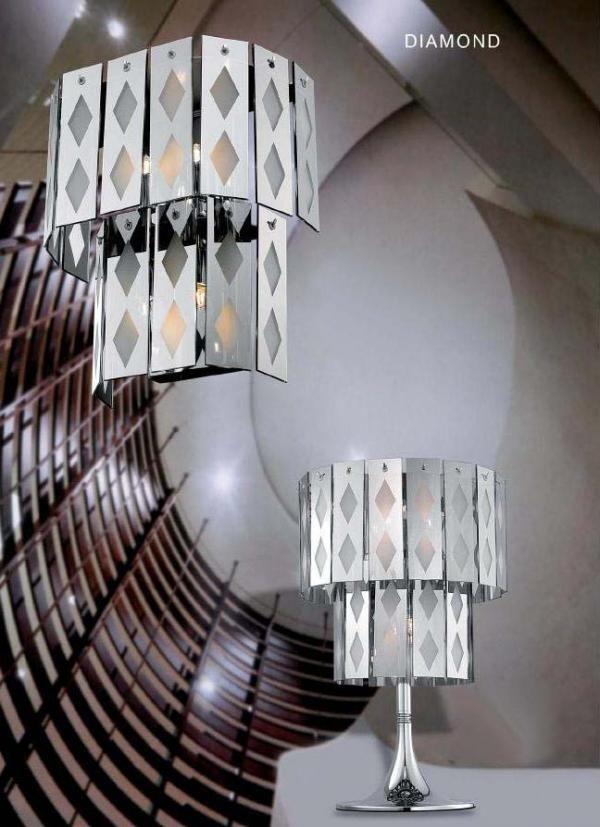 Επιτοίχιο φωτιστικό απλίκα γνωστού οίκου. Ένα μοντέρνο φωτιστικό το οποίο θα εναρμονιστεί τέλεια με τα έπιπλα και θα δώσει στο χώρο την όψη που επιθυμείτε. Συμπληρώστε τη διακόσμηση του σπιτιού σας με φωτιστικά υψηλής αισθητικής και ποιότητας.  https://www.milanode.gr/product/gr/405/%CF%86%CF%89%CF%84%CE%B9%CF%83%CF%84%CE%B9%CE%BA%CF%8C_%CE%B1%CF%80%CE%BB%CE%AF%CE%BA%CE%B1_diamond.html  #φωτιστικο #φωτιστικα #απλικα #απλικες #μοντερνο #μοντερνα