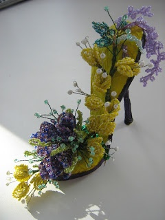 Quilled Shoe