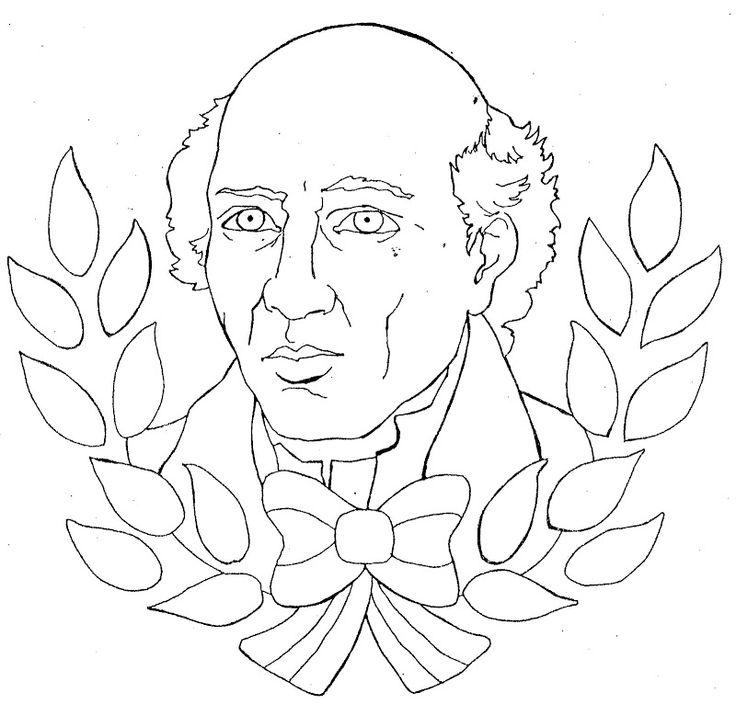 Pinto Dibujos: Miguel Hidalgo para colorear   16 de septiembre ...