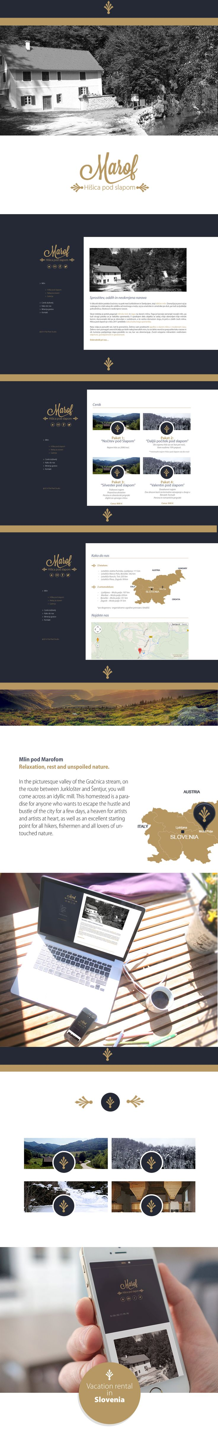 Vacation rental website.