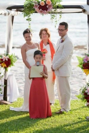 "Wedding vows for blended families: Kids say, ""We do, too!"" 