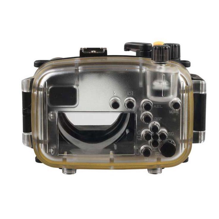 Водонепроницаемый бокс для подводной съемки корпус камеры чехол для Sony Nex6 nex-6 18 - 55 мм объектив