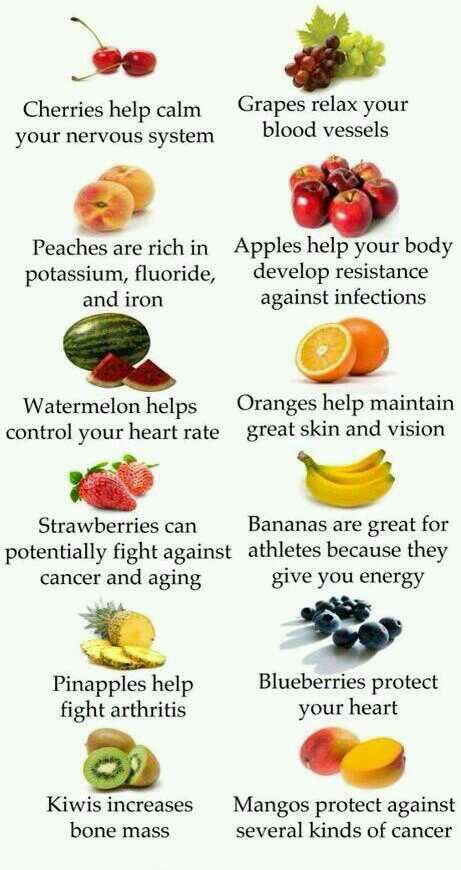 health benefits for fruits and vegetables besides just fiber and vitamins.