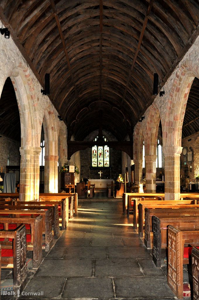 St Keverne church, Cornwall
