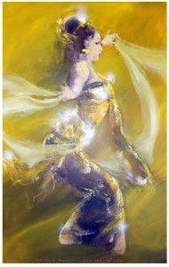 Bali Art -  Mother of Beauty by Ida Bagus Indra (IBI)