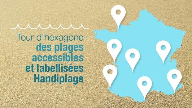 plages accessibles en fauteuil roulant