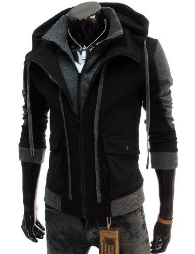 TheLees (LCJ11) Mens Casual Slim Fit Hood Cotton Jacket Black Large(US Medium) TheLees,MEN'S FASHION to buy just click on amazon here http://www.amazon.com/gp/product/B009HKNKXI?ie=UTF8=213733=393177=B009HKNKXI=shr=abacusonlines-20&=apparel=1376176286=1-4=zara+menA REAL DEAL http://a-real-deal.com