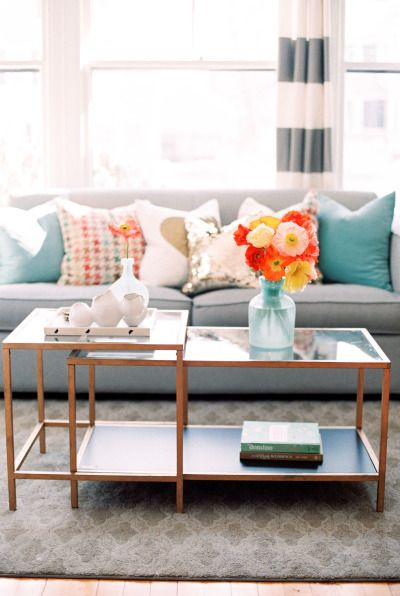 Decorating with spring blooms: http://www.stylemepretty.com/living/2015/04/16/spring-inspiration-for-your-home/ | Photography: Ruth Eileen - http://rutheileenphotography.com/