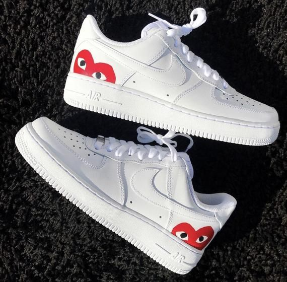 Brand new Supreme x CDG x Nike air force one UK 10