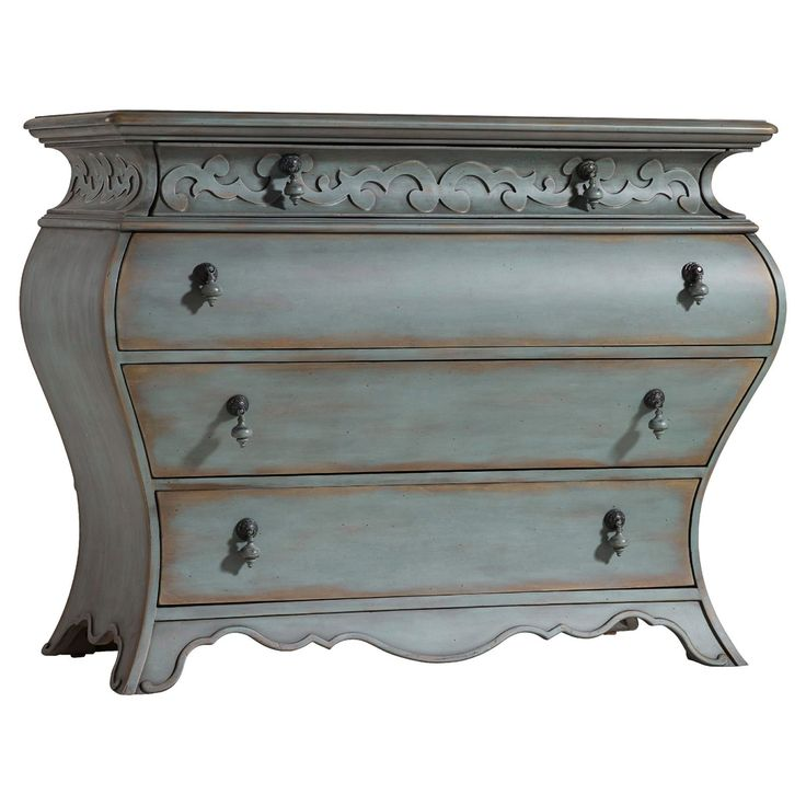 Hooker Furniture 4 Drawer Bombe Chest   from hayneedle.com