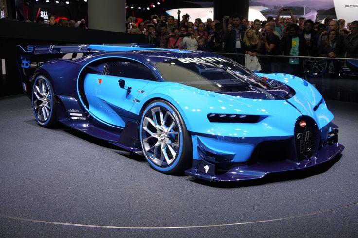 #Bugatti #Vision #Gran-Turismo at #IAA2015