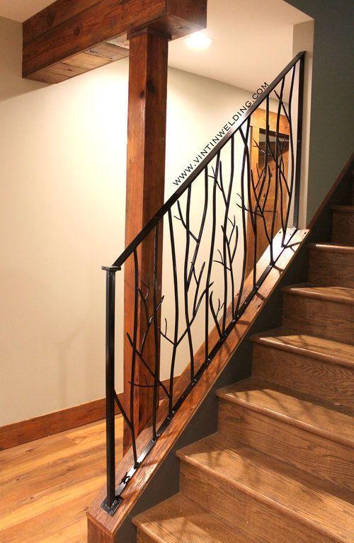 Best Rustic Tree Branch Railing Railing Handrails 400 x 300