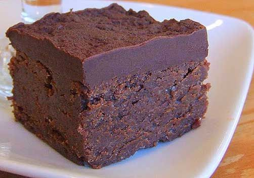 Chocolate- Mascarpone Brownies