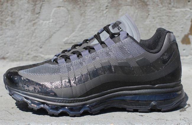 nike air max 95+ bb (360) black camo joggers