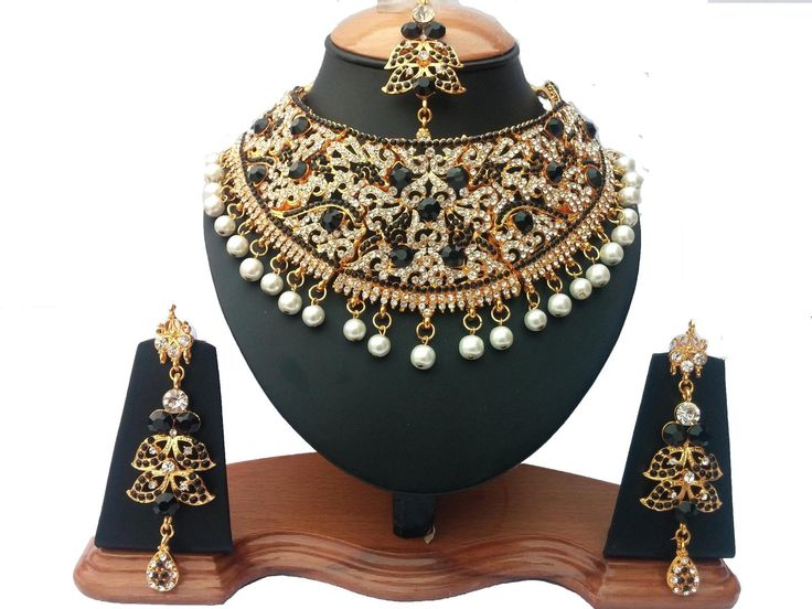 Indian A.D Style Glamourous Bollywood Bridal & Partywear Kundan Necklace Set