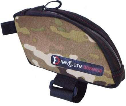 Revelate Designs Jerrycan Bent Bike Top Tube/Seatpost Bag