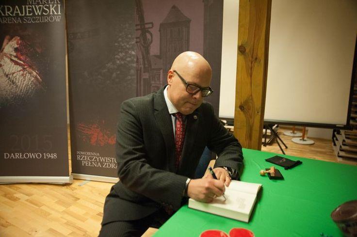 Spotkanie autorskie z Markiem Krajewskim