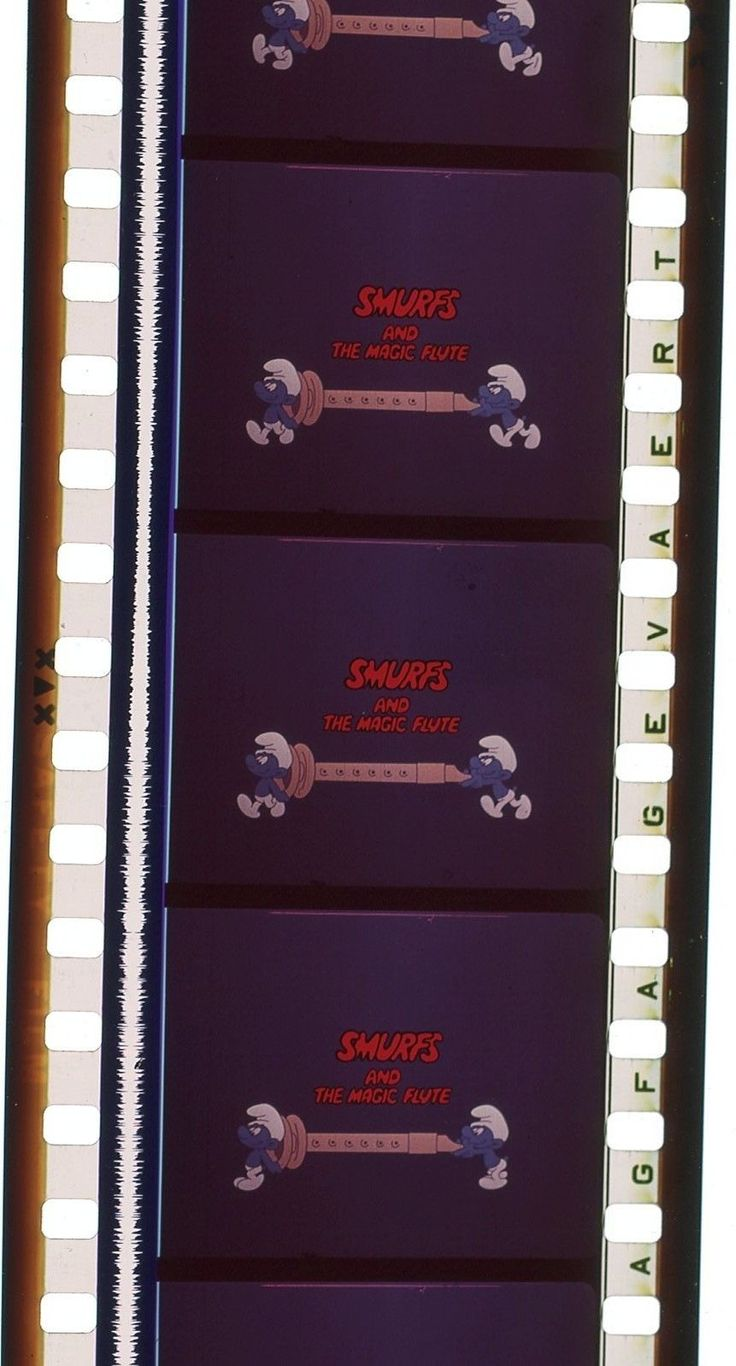 35mm Feature Film The Smurfs and The Magic Flute 1976 1983 6 09 15 | eBay