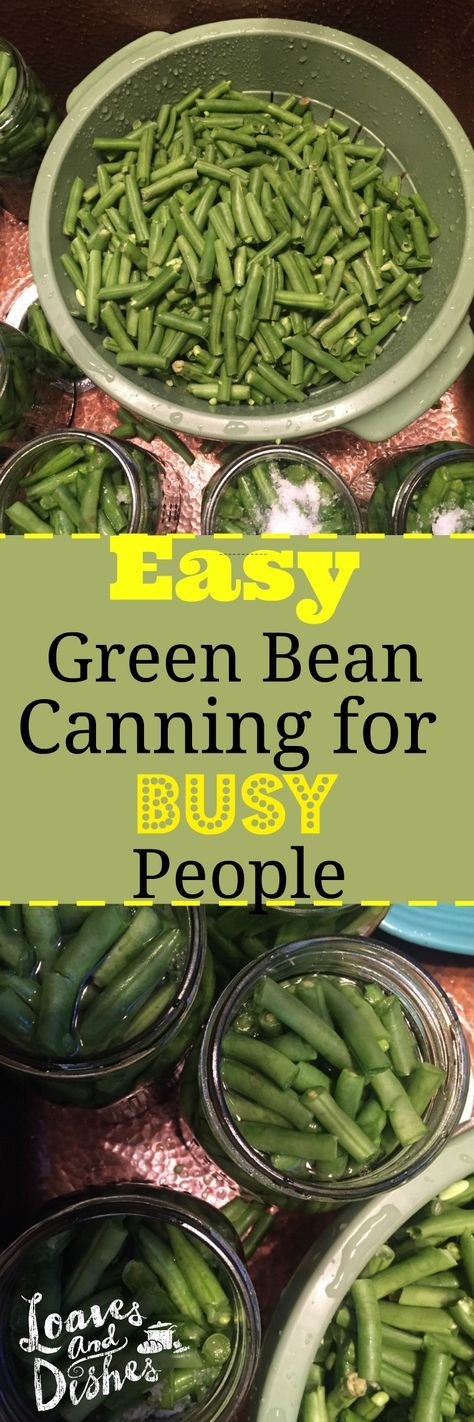 Easy step by step instructions for canning green beans.  The perfect solution for a busy mom with a family!  Just open a jar, heat and serve! Canning instructions with photos as well as information about where to purchase needed equipment