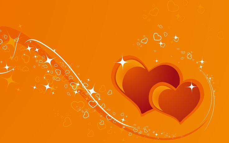 Orange Love Hearts Hd Background High Definition Wallpapers ... Orange Love Hearts Hd Background High Definition Wallpapers ...