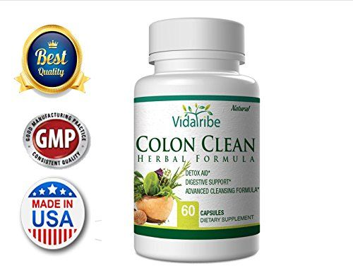 Colon Clean- Herbal Colon Cleanse Detox Natural Formula Pills With Acai Berry, Probiotic To Flush Toxins, Boost Weight Loss. Best Diet Supplement Support Colon Cleanser >>> Find out more about the great product at the image link.