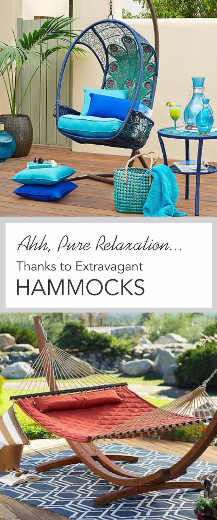 Hammock instead of a bed - 9 Extravagant Hammocks That Take Outdoor Lounging To A New Level