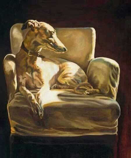 Inside  Order an oil painting of your pet today at petsinportrait.com