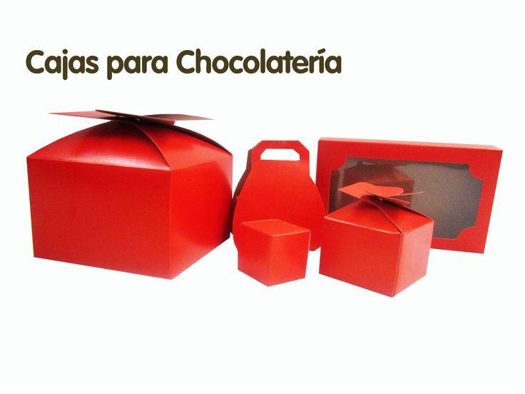 Tus cajas para Chocolates...