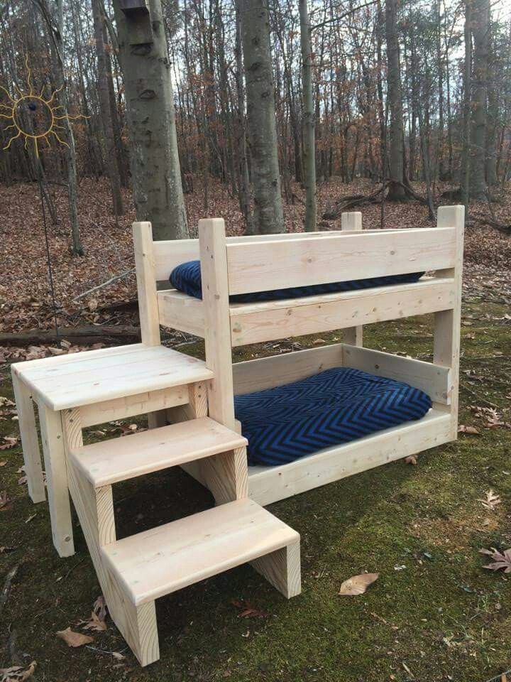 17 best ideas about dog bunk beds on pinterest rustic. Black Bedroom Furniture Sets. Home Design Ideas