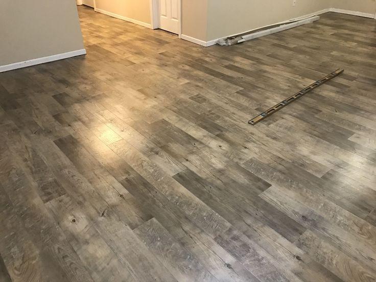 Installing Vinyl Plank Flooring Over, Allure Flooring Over Tile